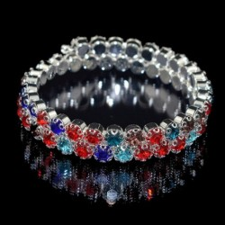 Ladies Crystal Rhinestone...