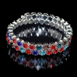 Ladies Crystal Rhinestone Bracelet Bangle Adjustable Wide Cuff Bracelet Bride Crystal Stretch Bracelet Jewelry for Women's Gifts,Home,Ladies Crystal Rhinestone Bracelet Bangle Adjustable Wide Cuff Bracelet Bride Crystal Stretch Bracelet Jewelry for Women's Gifts,4000468921747,,$4.00,$4.00,$1.99,$2.01,Shopping dog