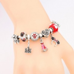 Cute Red Enamel Princess Dress Minnie Bracelet Silver Castle Bead Bracelet Diy Murano Crystal Charm Bracelet Pulseras for Girl,Home,Cute Red Enamel Princess Dress Minnie Bracelet Silver Castle Bead Bracelet Diy Murano Crystal Charm Bracelet Pulseras for Girl,33064411613,,$13.00,$13.00,$5.99,$7.01,Shopping dog