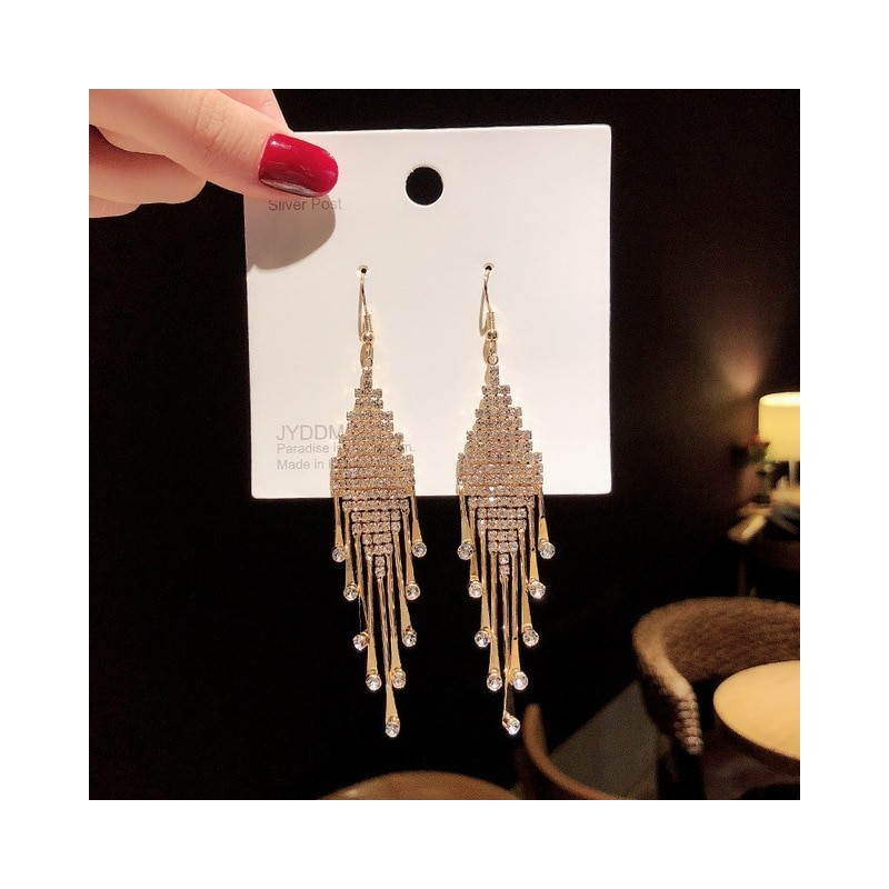 S925 Silver Needle Crystal Earrings Women's Exaggerated Long Earrings Tassel Rhinestone Earrings Fashion Lady Korean Ear Jewelry,Home,S925 Silver Needle Crystal Earrings Women's Exaggerated Long Earrings Tassel Rhinestone Earrings Fashion Lady Korean Ear Jewelry,4000323080602,,$12.00,$12.00,$12.00,$0.00,Shopping dog